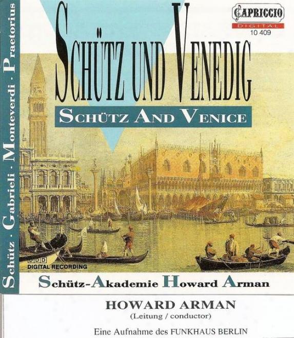 Choral Music (baroque 16th Century) - Gbarieli, G. / Schutz, H. / Praetorius, M. / Monteverdi, C.