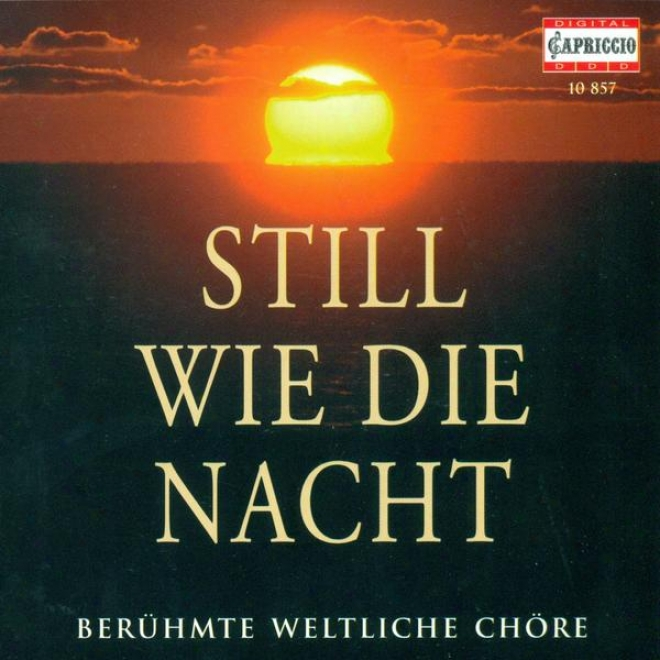 Choral Music (german) - Bohm, K. / Zollner, C.f. / Schubert, F. / Grieg, E. / Mozart, W.a. / Silcher, F. / Mendelssohn, Felix / Lo