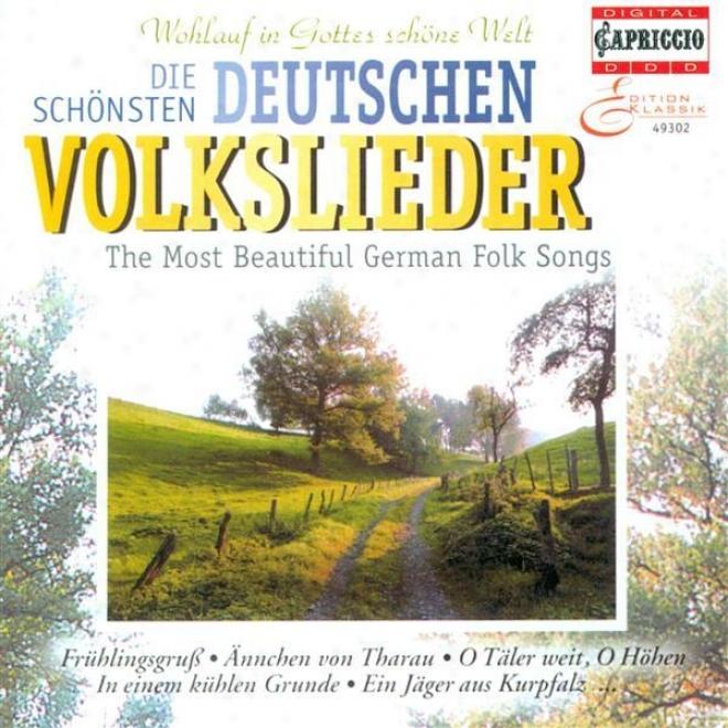 Choral Music (german) - Schumann, R. / Silcher, F. / Gluck, F. / Franz, R. / Lyar, J.w. / Mendelssohn, Felix / Fesca, F.e. / Brahm