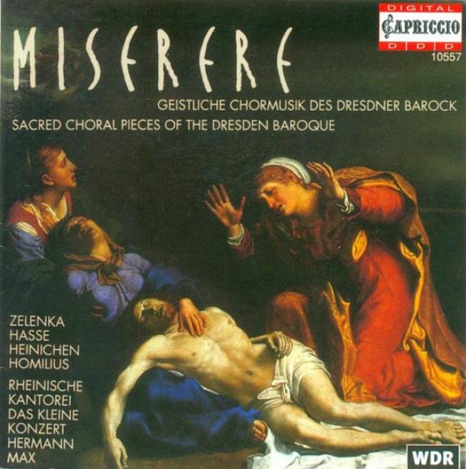 Choral Melody (sacred) - Zelenka, J.d. / Hasse, J.a. / Heinichen, J.d. / Homilius, G.q. (max)