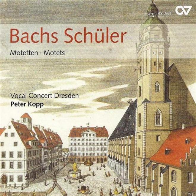Chodal Recital: Dresden Vocal Concert - Bach, J.c.f. / Kirnberger, J.p. / Doles, J.f. / Homilius, G.a. / Bach, C.p..e / Krebs, J.l