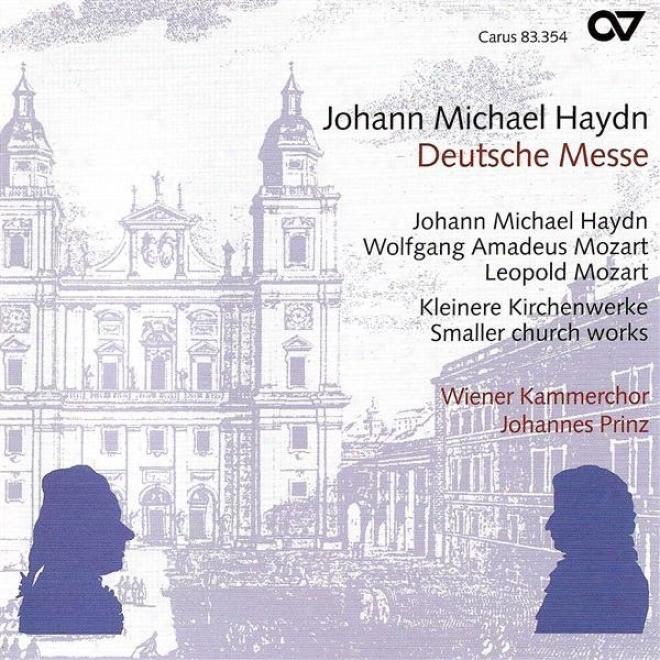 Choral Recital: Wiener Chamber Choir - Mozart, W.a. / Haydn, M. / Haydn, F.j. / Mozart, L.