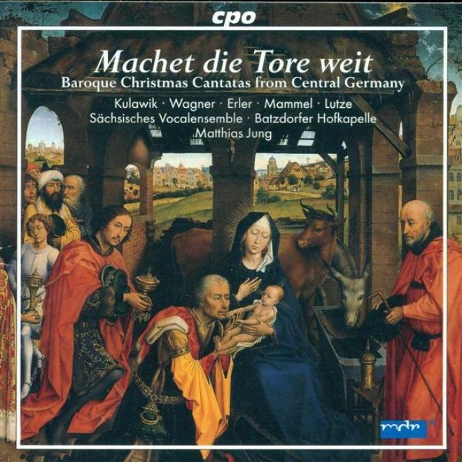 Christmas Baroque Cantatas (geerman) - Schelle, J. / Petritz, B. / Erlebach, P.h. / Jacobi, C.a. / Liebe, C. / Bessel, J.e.