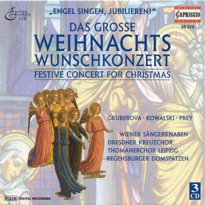 Christtmas Festive Concert - Bach, J.s. / Handel, G.f. / Praetorius, M. / Manfredini, F.o. / Mendelssohn, Felix / Gabrieli, G.