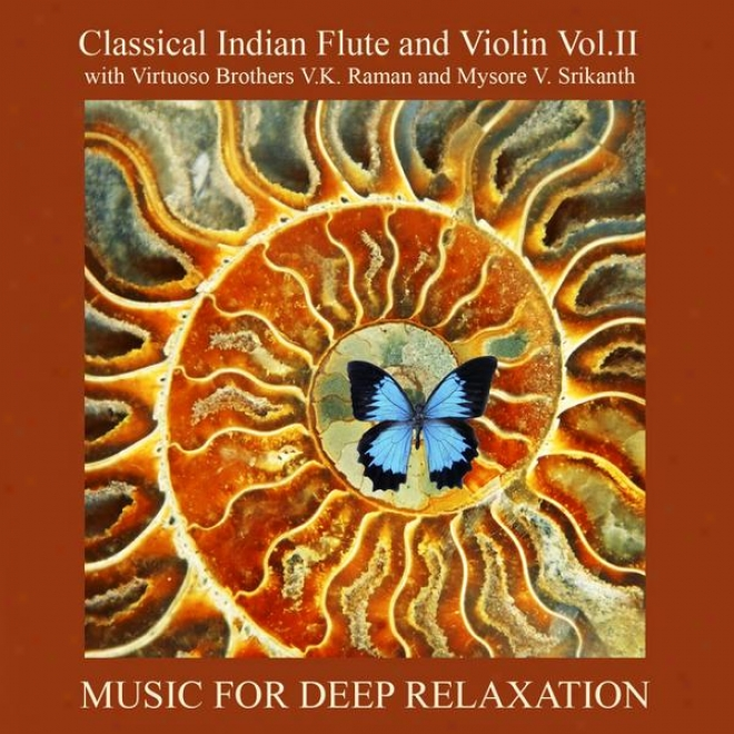 Classical Indian Flute And Violin Vol. Ii With Virtuoso Brothwrs V.k. Raman And Mysore V. Srikanth