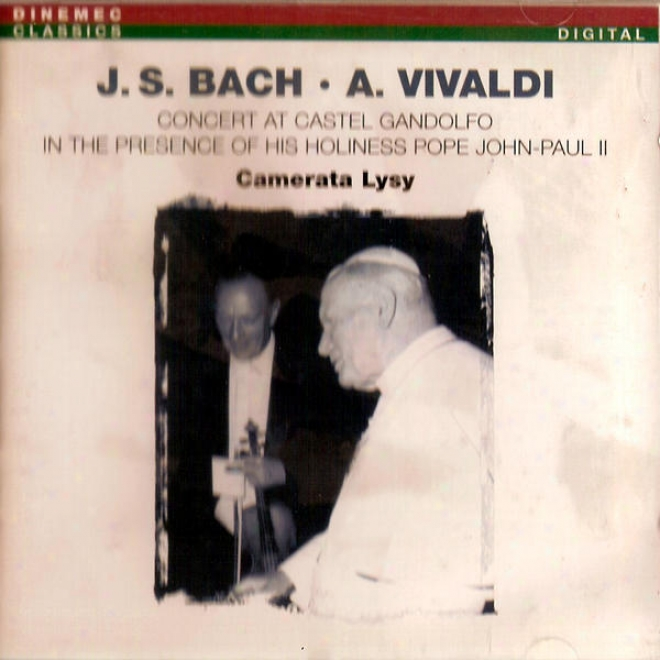 Concert At Casttel Gandolfo In The Presence Of His Holiness Pope John-paul Ii