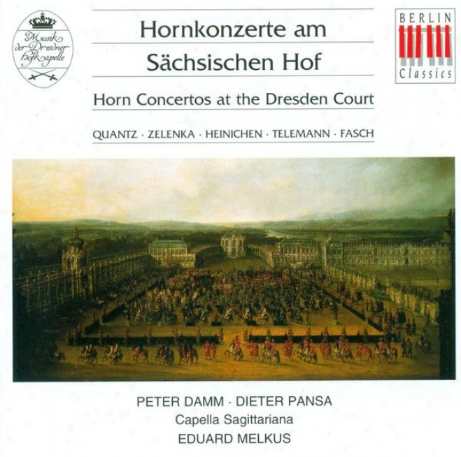 Concertos - Quantz, J.j. / Zelenka, J.d. / Heinichen, J.d. / Telemann, G.p. / Fasch, J.f. (damm, Pansa, Capella Sagittariana, Melk