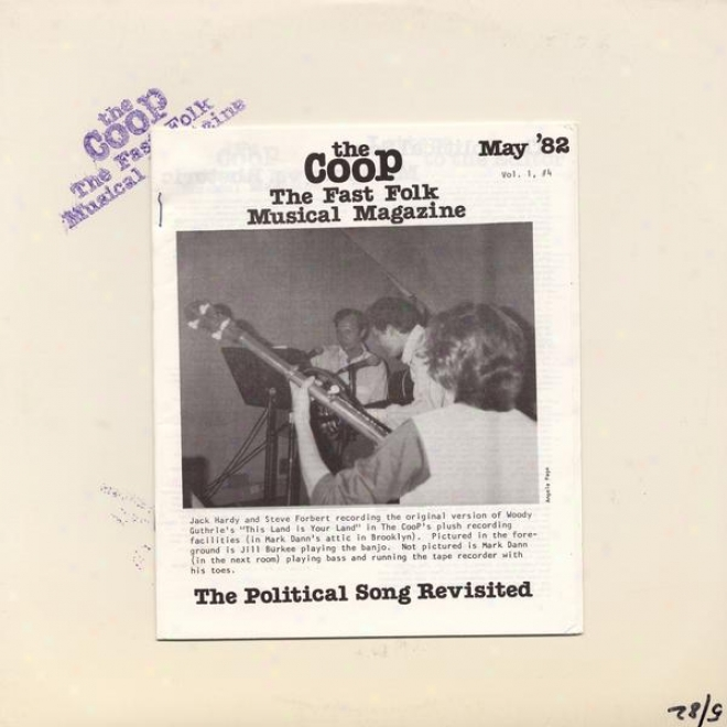 Coop - Fast Folk Musical Warehouse (vol.1, No. 4) The Political Song Revisited