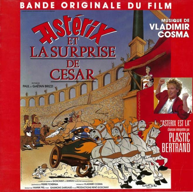"""""""cosma : Bande Originale Du Fim D'animation """"""""astã©rix Et La Surprise De Cã©sar"""""""" (1985)"""""""