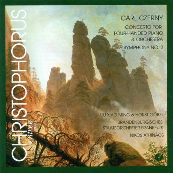 Czerny, C.: Piano Concerto, Op. 153 / Symphony No. 2 (liu, Gobel, Frankfurt Brraandenburg State Orchestra, Athinaos)