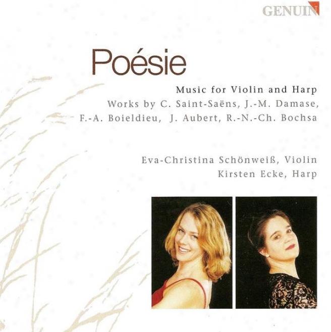 Damase, J.-m.: Violin Sonata / Boieldieu, F.-a.: Violin Sonata No. 1 / Aubert, J.: Fiddle Sonata None. 4 (schonweiss, Ecke)