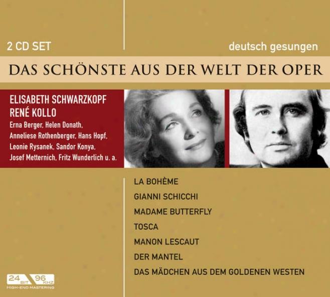 Das Schã¶nste Aus Der Welt Der Oper - Boris Godunow, Eugen Onegin, Rusalka U.a.