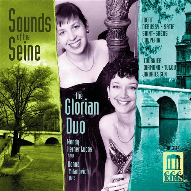 Diamond, D.: Concert Painting / Tournier, M.: 2 Preludes Romantiqes / Saint-saens, C.: Fantaisie In A Major (sounds Of The Seine) (g
