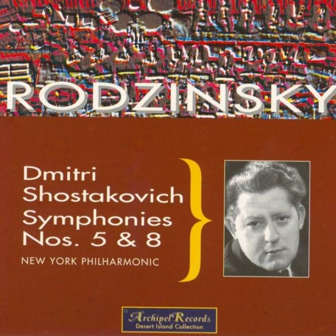 Dmtri Shostakovich : Symphonies Nos. 5 & 8 - Tchaikovsky : Piano Concerto No.1 In B Flat Minor Op.23, Overture Solennelle 1812 Op.