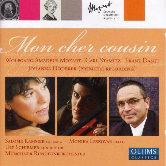 """foderer, J.: Mon Cher Cousin / Stamitz, C.: Cello Cobcerto No. 1 / Mozart, W.a.: Divertimento, """"salzburg Symphony No. 1"""" (leskovar"""