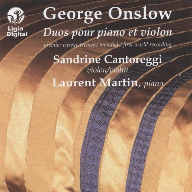 Duos For Piano And Violin, Duos Pour Piano Et Violon, First World Recording