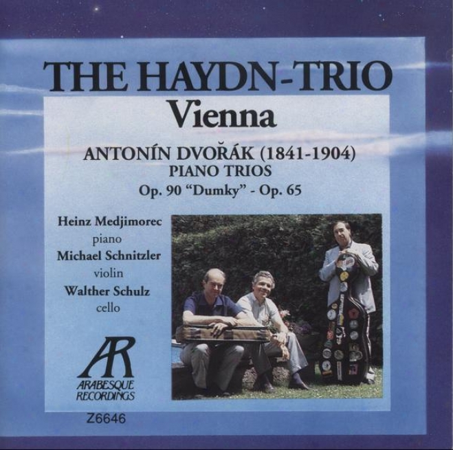"""dvorak: Piano Trio In E Minor, Op. 90 (""""dumky""""); Piano Trio In F Minor, Op. 65"""