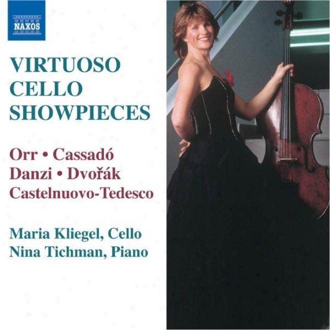 Dvorak: Sonatina In G Major, Op. 100 / Orr: A Carmen Fantasy / Danzi: Don Giovanni Variations