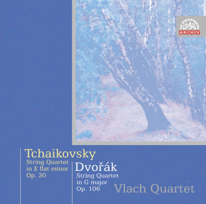 Dvorak : String Quartet No. 13 In G Major/tchaikovsky : String Quartet No. 3 In E Flat Minor /vlach Quaartet