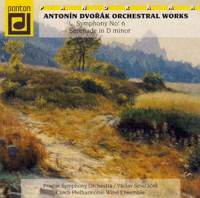 Dvorak : Consonance No. 6, Serenade Op. 44 / Prague So, Smetacek, Czech Philharmonic Wind Ensemble