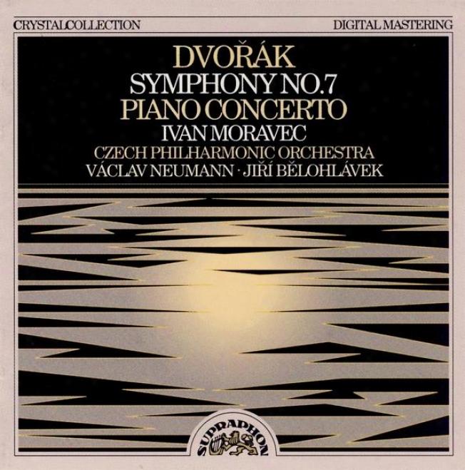 Dvorak : Consonance No. 7, Piano Concerto / Moravec, Czech Po, Neumann, Belohlavek