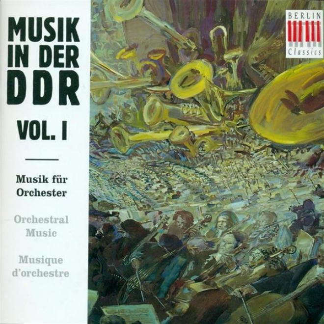 East German Music, Vol. 1 - Kochan, G. / Goldmann, F. / Zimmermann, U. / Kurz, S. / Matthus, S.