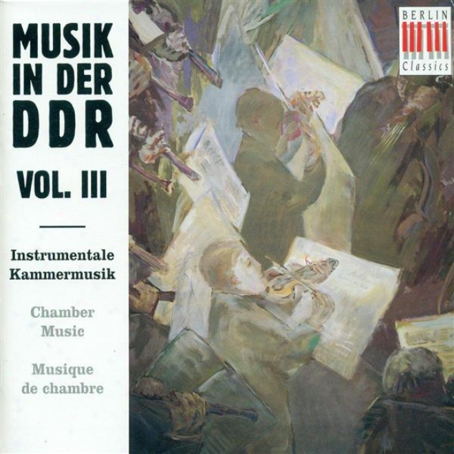 East German Music, Vol. 3 - Katzer, G. / Schenker, F. / Goldmznn, F. / Zechlin, R. / Dessau, P. / Meyer, E.h.
