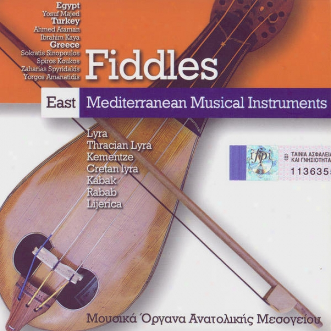 """east Mediterranean Musical Instruments: """"fiddles"""" (egypt, Turkey, Greece)"""