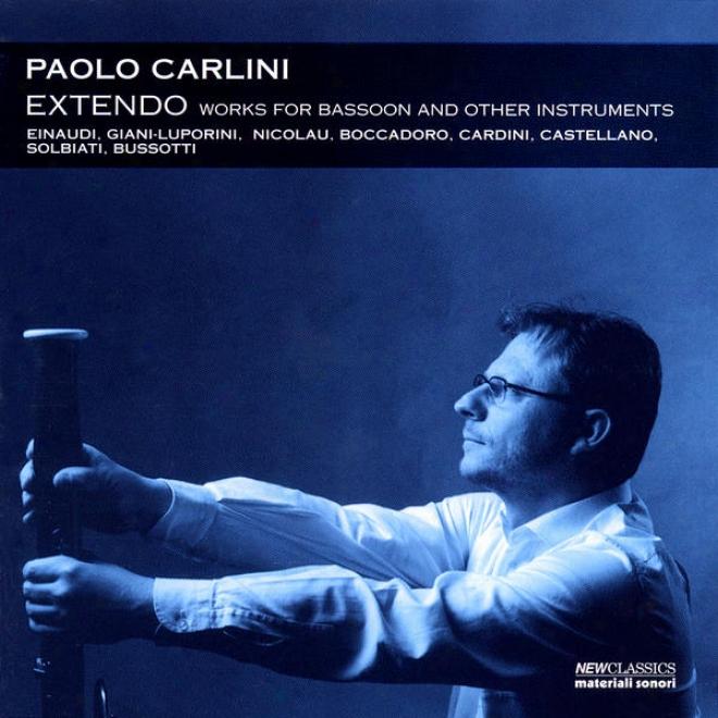 Einaudi, Giani-luporini, Nicolau, Bocadoro, Cardini, Castellano, Solbiati & Busaotti: Works Fo Bassoon And Other Instruments