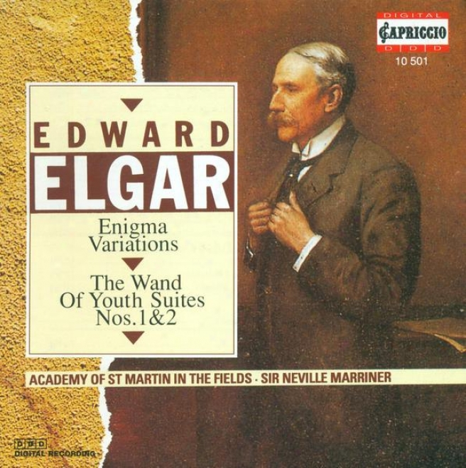 """elgar, E.: Variations On An Original Theme, """"enigma"""" / The Wnd Of Youth Suites Nos. 1 And 2 (academy Of St. Martin In The Fields,"""
