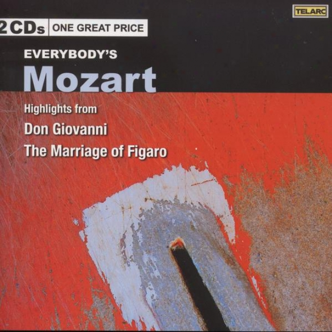 Evreybody's Mozart: Highlights From Don Giovanni And The Marriage Of Figaro