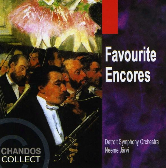"""""""favorite Encores"""" - Music Of Chabrier, Sibelius, Bolzoni, Ellington, Shostakovich, Sousa"""