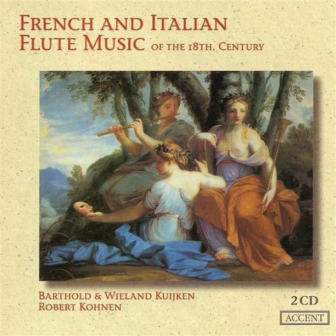 Flute Music (french And Italian 18th Century) - Mobteclair, M.p. / Blavet, M. / Guignon, J.-p. / Boizmortier, J.b. / Leclair, J.-m