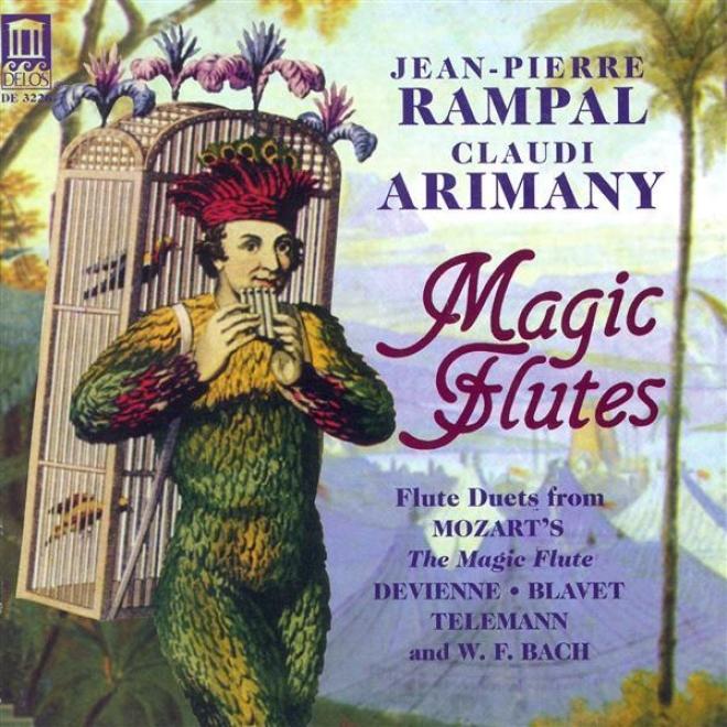Flute Music - Mozart, W.a. / Bach, W.f. / Blavet, M. / Telemann, G.p. / Devienne, F. (magic Flutes) (rampal, Arimany)