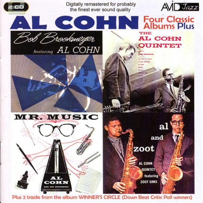 Four Classic Albums Pluss (mr Music / Al Cohn Quintet Ft Bon Brookmeyer / Al & Zoot / Bob Brookmeyer Ft Al Cohn) (digitally Remaste