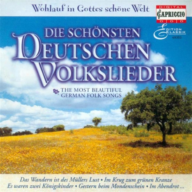 German Folk Songs - Zollner, C.f. / Reichardt, J.f. / Brahms, J. / Schubert, F. / Zuccalmaglio, A.w.f. Von / Kuhlau, F.