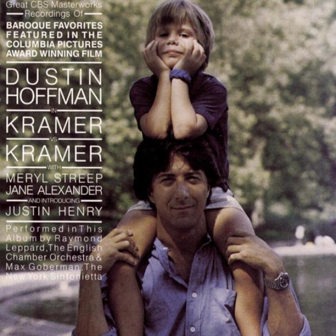 """great Cbs Masterworks Recordings Of Baroque Favorites From """"kramer Vs. Kramer"""