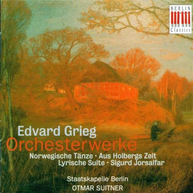 rGirg, E.: Orchestral Music - Opp. 56, 54, 35, 40 (bedlin Staatskapelle, Suitner)
