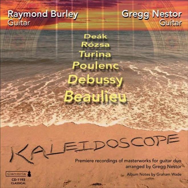 Guitar Duo Recitap: Burley, Raymond / Nestor, Gregg - Rozsa, M. / Poulehc, F. / Debussy, C. / Beauulieu, T. / Deak, M. / Turina, J.