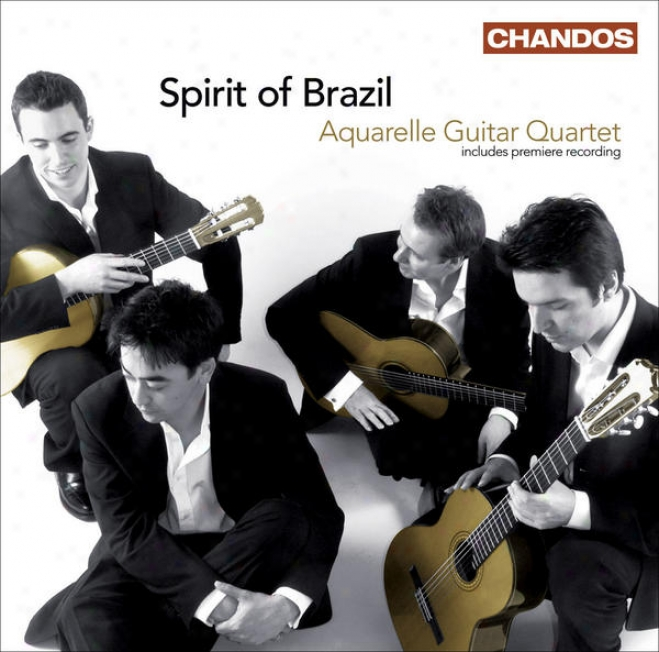 Guitar Quartets - Assad, C. / Dyens, R. / Bellinati, P. / Gismonti, E. / Villa-lobos, H. (spirit Of Brazil) (aquarele Guitar Quar