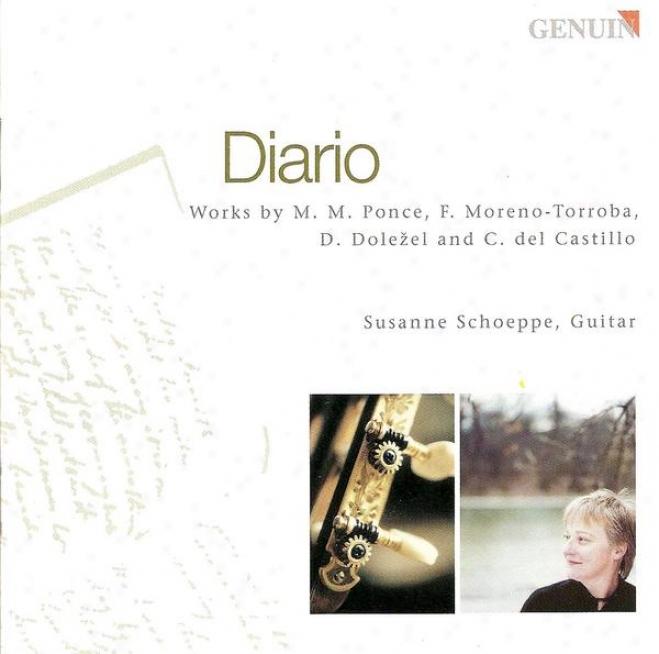 Guitar Reciyal: Schoeppe, Susanne - Ponce, M.m. / Moreno, T.f. / Dolezel, D. / Castillo, C.