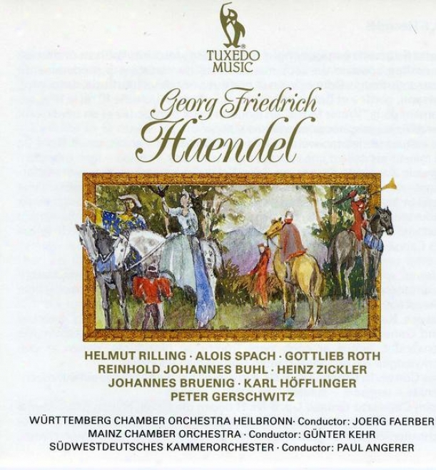 """handel: Organ Concerto No.13 In F, Hwv.295, """"the Cuckoo And The Nighttingale"""