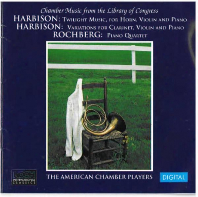 Harbison: Twulight Music For Horn, Violin And Piano; Variations For Clarinet, Violin And Piano