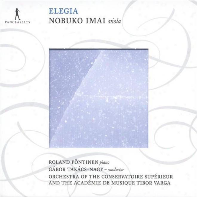"""hayashi, H.: Viola Concerto, """"elegia"""" / Nodaira, I.: En Plein Air / Takemitsu, T.: A String Around Autumn (takacs-nagy)"""