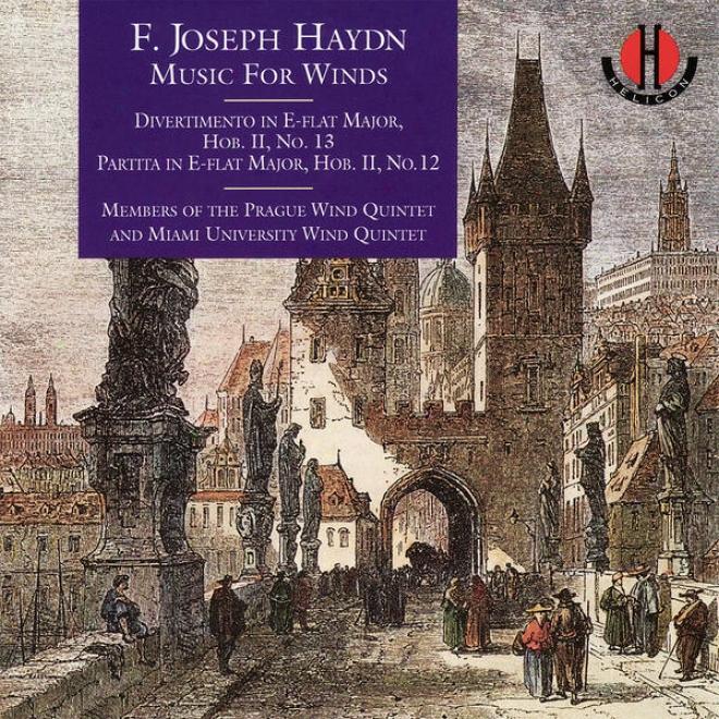 Haydn: Divertimento In E-flat Major, Partita In E-flat Major - Krommer: Partita In C Minor