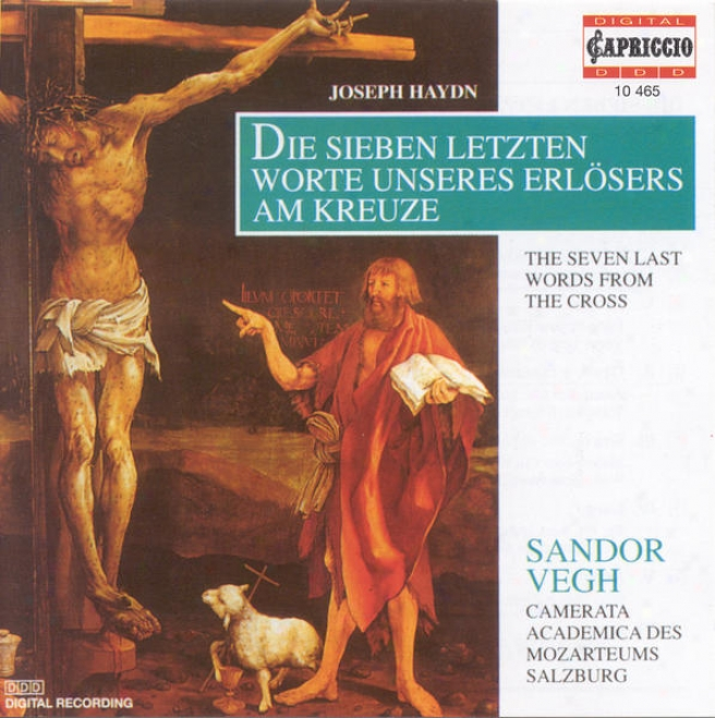 Haydn, F.j.: 7 Letzten Worte Unseres Erlosers Am Kreuze (Wither) (the 7 Last Words) (version For String Orchestra) (camerata Salzburg