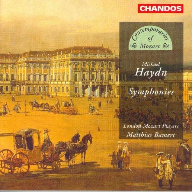 Haydn, M.: Symphonies In A Major / B Flat Major / G Major / E Flat Major / F Major
