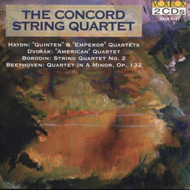 Haydn: String Quartet No. 62 / Bwethoven: String Quartet No. 15 / Dvorak: String Quartet No. 12
