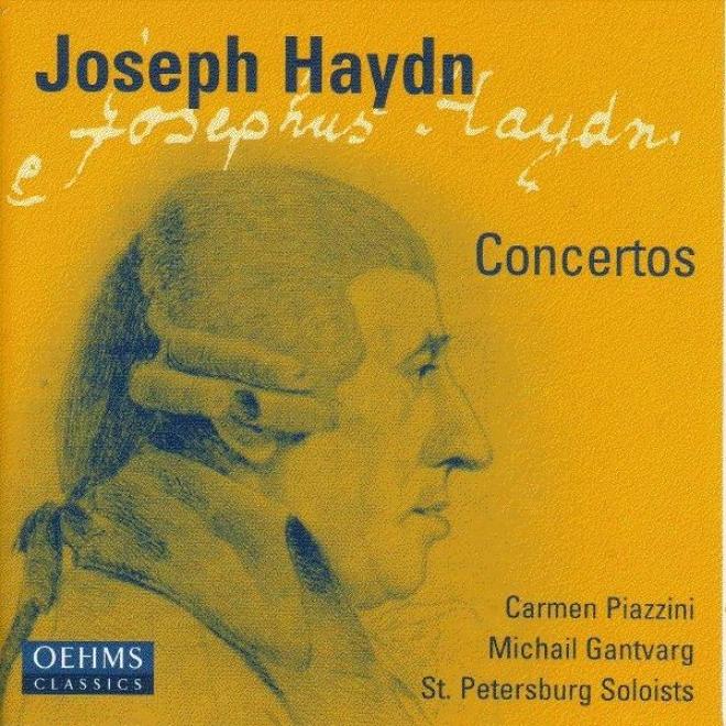Haydn: Violin Concerto In G Major / Piano Concerto In D Major / Concerto For Violin And Piano