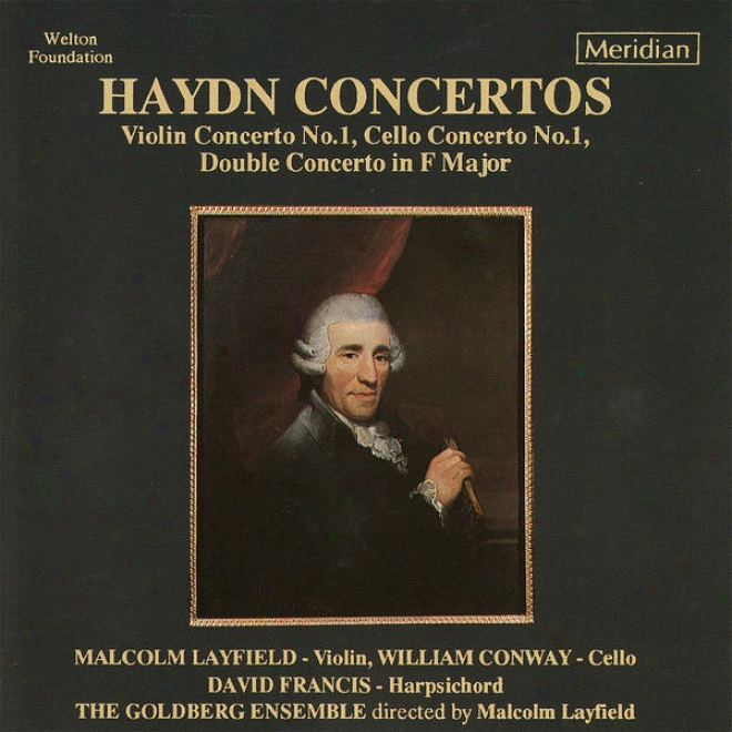 Haydn: Violin Conerto No. 1, Cello Concerto Not at all. 1, Double Concerto In F Major